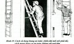 Yêu cầu an toàn khi sử dụng thang