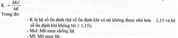 cong thuc tinh do on dinh cua may truc