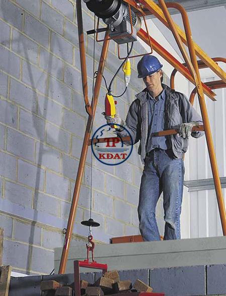 An toàn lao động đối với người vận hành palang điện
