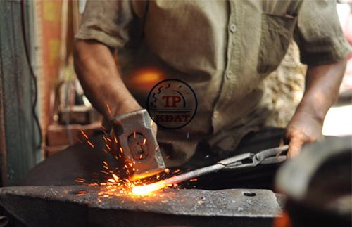 an toàn lao động nghề rèn, đúc
