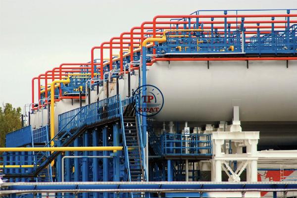 an toàn lao động tại cơ sở khí hóa lỏng
