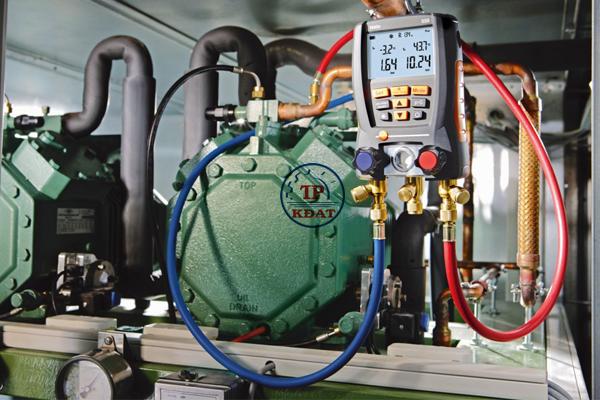 an toàn thiết bị áp lực của hệ thống lạnh