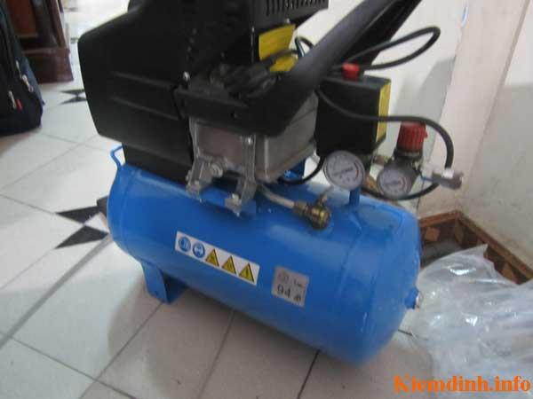 Kiểm định bình khí nén BM24 - 24 lít tại Tp.HCM - hình 3