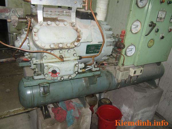 Kiểm định hệ thống lạnh Hitachi - 15Hp - hình 3