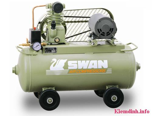 an toàn lao động máy nén khí sau quy trình kiểm định