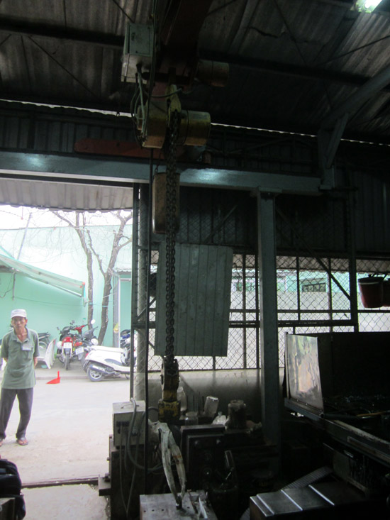 kiểm định cầu trục dầm đơn 2,8 tấn tại Bình Chánh - Tp.HCM - hình 1