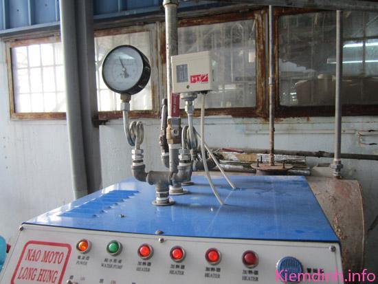 kiểm định nồi hơi công suất 150 kg/h áp suất 7kg/cm2 tai q9 - tphcm- hình 1
