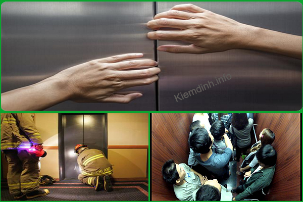 Một số sự cố thường gặp khi sử dụng thang máy và cách xử lý